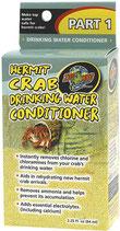 Zoo med - conditionneur d'eau douce pour bernard l'hermite 64ml