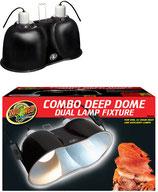 Zoo Med Combo Deep Dome Lamp Fixture