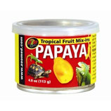 "Zoo Med Tropical Fruit ""Mix-Ins"" Papaya (113 gr) x3"