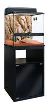 Meuble pour terrarium noir (45x45x70cm)