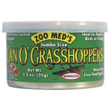 Zoo Med Can O' Grasshoppers (35 gr/ 25 - 30 St.) x3