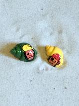 Duo pirates (vert et jaune)