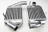 "Audi RS4 A6 2.7L Turbo 2"" (51mm) Upgrade Ladeluftkühler Intercooler Set 90mm"