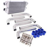 Nissan 300zx Z32 Twin Turbo FMIC V1 Ladeluftkühler Intercooler Set 89-96 inkl. Verrohrung 6pcs