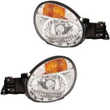 Subaru Impreza WRX Bugeye 01-02 LHD Scheinwerfer Headlamps
