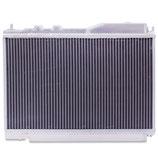 Honda Civic CDTI 1.7L 00-05 Racing Aluminium Wasserkühler 30% mehr Kühlkapazität Race Radiator 40mm