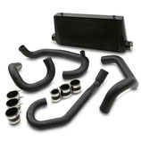 "Subaru Impreza WRX STi GT 3"" (76mm) Black Ladeluftkühler Intercooler Set 93-01 inkl. Verrohrung"