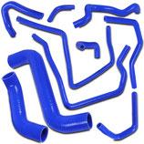 Subaru Impreza WRX STI 01-07 Silikon Kühlerschläuche Motorschläuche Blau Silicone Hose Kit