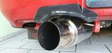 Subaru Impreza WRX & STI Hawkeye 06-07 Auspuff Cover Hitzeschutz Heckschürze Carbon Optik Exhaust Heat Protection