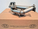 Mazda RX7 FD3S T4 Turbo Fächerkrümmer 3MM Edelstahl Exhaust Manifold High Performance