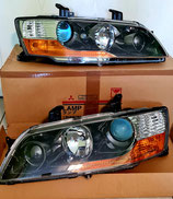 OEM Mitsubishi Lancer Evo 7 8 9 LHD Scheinwerfer Set rechts/links Headlamps