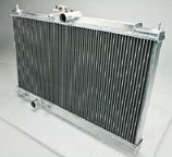 Mitsubishi Lancer Evo 7 8 9 Racing Aluminium Wasserkühler + 40% Kühlkapazität Race Radiator 42MM