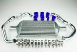 """Audi A4 B6 1.8T Turbo 2,25"""" (57mm) Ladeluftkühler Intercooler Set 01-05 inkl. Verrohrung"""