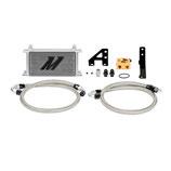 Mishimoto Ölkühler Set inkl. Thermostad 85°C & Zubehör für Subaru Impreza WRX STI 2015+ oilcooler complete set