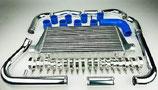 """Toyota Celica GT4 ST185 3S-GTE 3"""" (76mm) Ladeluftkühler Intercooler Set 89-93 inkl. Verrohrung"""