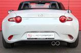 Mazda MX5 ND MK4 1.5L & 2.0L Sportauspuff Edelstahl Abgasanlage Backbox mit EG-Genehmigung ESD 2015+ Exhaust