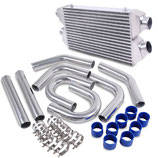 Nissan 300zx Z32 Twin Turbo FMIC V2 Ladeluftkühler Intercooler Set 89-96 inkl. Verrohrung 8pcs
