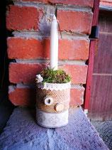 Herzlicher Kerzenständer | Landhausstil
