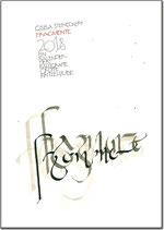 """Gisela Steineckert Kunstkalender """"Fragmente"""" - 2018"""