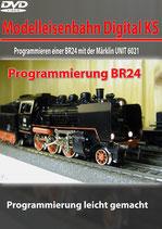Programmieren einer Dampf-Lok BR24 mit der Märklin UNIT 6021 (DVD)