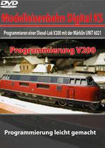 Programmieren einer Diesel-Lok V200 mit der Märklin UNIT 6021 (DVD)