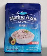 Atún en Agua Marina Azul sobre de 74 gr.