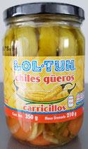 Chiles Güeros Carricillos de 350 gr