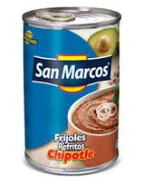 Frijoles Refritos Bayos con Chipotle de 430 gr