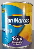 Piña Rebanada en Almibar San Marcos 800 gr.