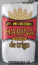 Harina de Trigo Extra Fina La Moderna 1 kg