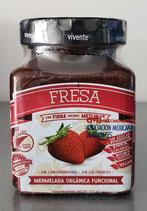 Mermelada Organica de Fresa Vivente 225 gr