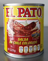 Salsa de Chile Colorado 225 gr