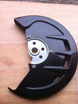 Protège disque avant avec entretoise aluminium acerbis adaptée a votre moto