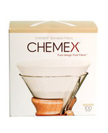 Chemex Filterpapier 6-8 Tassen gerade - 100 Stück