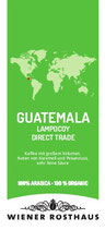 Guatemala Lampocoy Grand Cru - Gourmetkaffee der Spitzenklasse - Direct Trade - 100% Organic