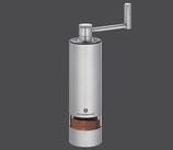 Zassenhaus Panama Edelstahl/Acryl Espressomühle