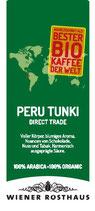 Peru Tunki - Direct Trade - 100% Organic