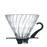 Hario V60 Glas Dripper 02 schwarz