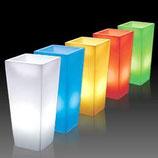 Pot colonne lumineux
