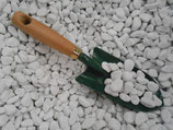 Galets de marbre blanc sac 25 kg