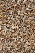 Gravier ocre semi-roulé 6/10 le demi m3 (500 L) en big bag