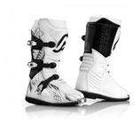 BOOTS OFF ROAD SHARK JUNIOR - WHITE/BLACK