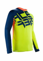 MX AIRBORNE JERSEY - YELLOW/BLUE