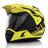ACTIVE MOTORCYCLE HELMET GRAFFIX - YELLOW/BLACK