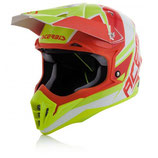 HELMET IMPACT 3.0 2017 - RED/YELLOW