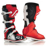 X-PRO V. OFF ROAD BOOTS - RED/WHITE