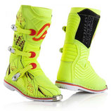 BOOTS OFF ROAD SHARK JUNIOR - FLO YELLOW/BLACK