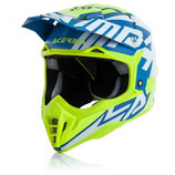 HELMET IMPACT 3.0 2017 - BLUE/FLUO YELLOW