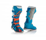 X-PRO V BOOTS - BLUE/ORANGE