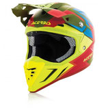 HELMET PROFILE 3.0 SNAPDRAGON - GREEN/YELLOW